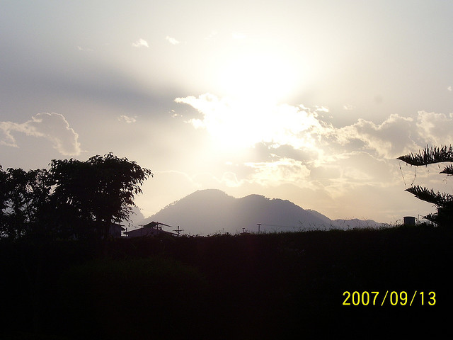 Dehradun, Doon valley, mountains, sun, sunset, uttarakhand