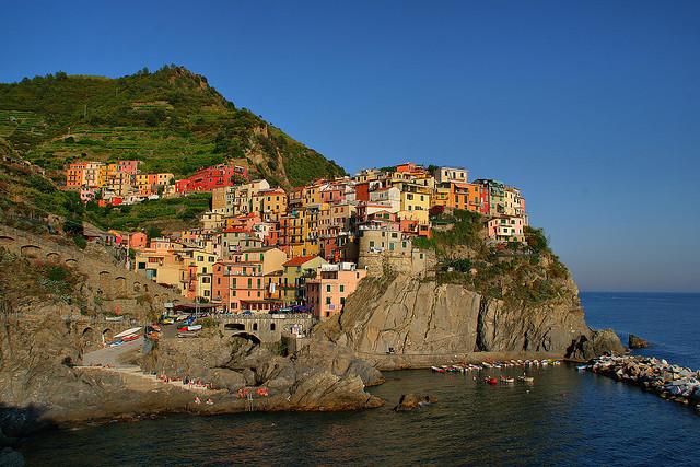 Cinque Terre, Italy, Italian riviera