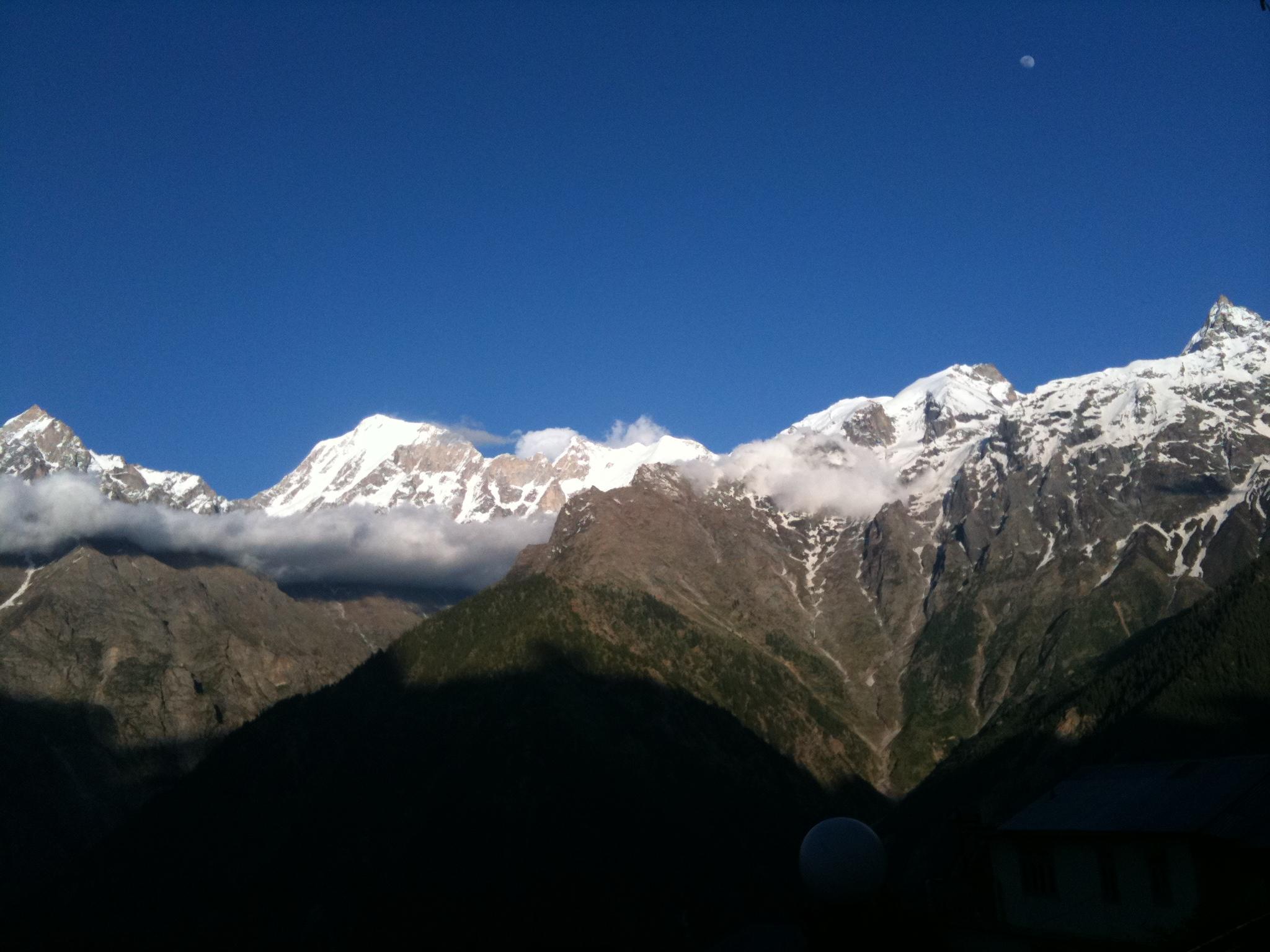 Mount Kailash, Kinnaur kailash, kalpa, himalayas, shimla to kalpa