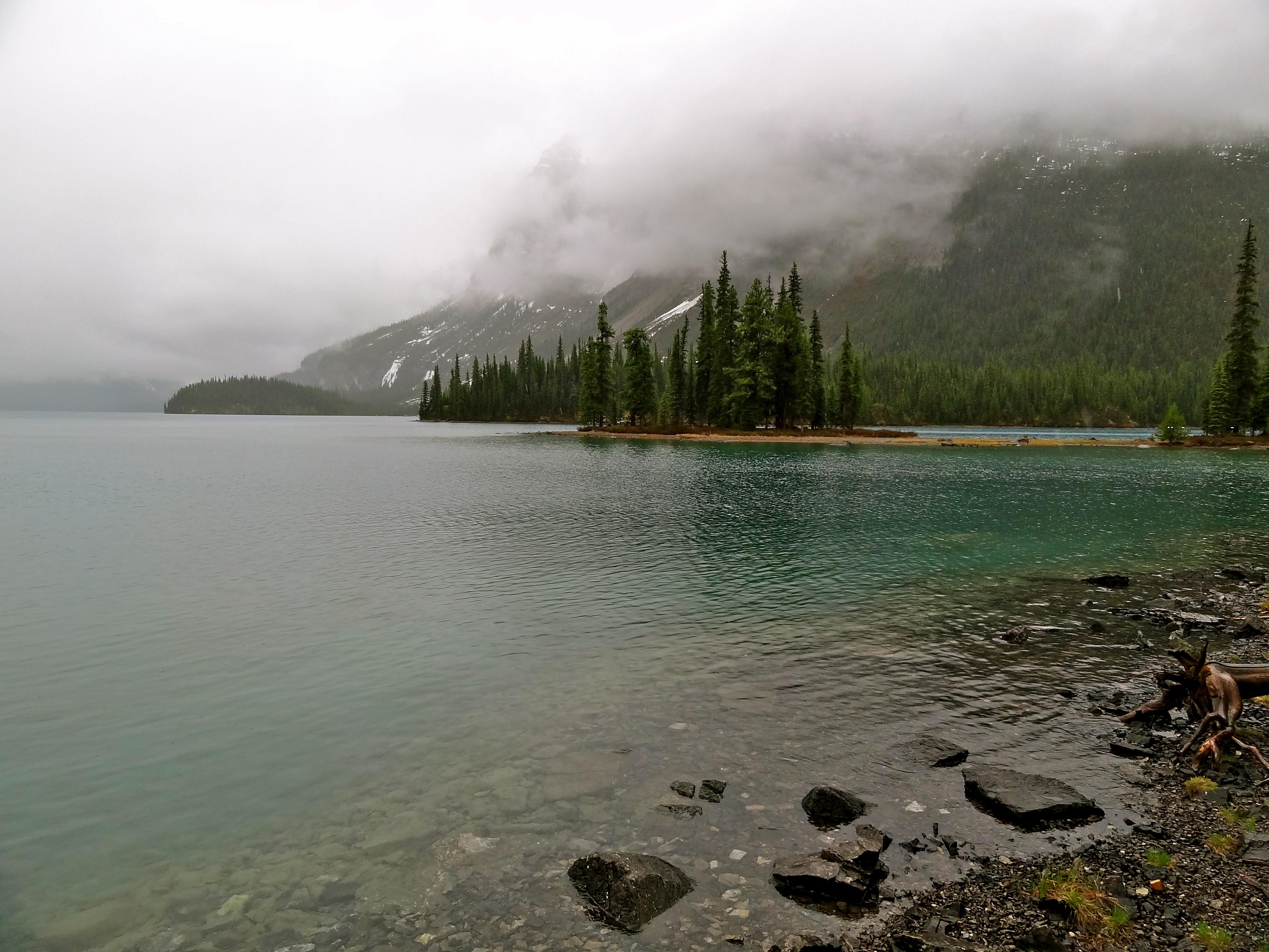Maligne lake, Spirit Island